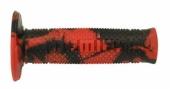 Revêtements de poignée Domino Snake rouge/noir revetements