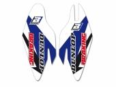 Kit déco protection de fourche Blackbird Yamaha 250 YZ-F 2010-2016 Kit déco protection de fourche