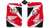 KITS DECO GRILLE DE RADIATEUR BLACKBIRD POUR HONDA 250 CR-F 2010-2013 kit deco radiateur