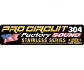stickers echapement pro circuit R-304 FACTORY Stickers echappement