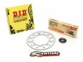 Kit chaîne D.I.D HUSQVARNA 250 TC 2014-2017 kit chaine