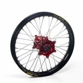 Roue Arrière Haan Wheels  jante noire/moyeu rouge Beta 250/300 RR 2T 2013-2016 roues completes