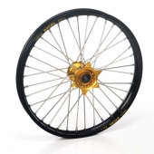 Roue Avant Haan Wheels jante noire/moyeu or Beta 350/390/430/480 RR 2015-2016 roues completes