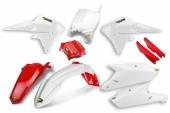 KIT PLASTIQUE CYCRA ROUGE/BLANC 450 YZ-F 2014--2016 kit plastique cycra powerflow