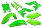 KIT PLASTIQUE CYCRA 6 ELEMENTS VERT FLUO 250 KX-F 2013-2016 kit plastique cycra powerflow