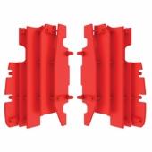Cache radiateur POLISPORT rouge Honda 125/250 CR 2002-2007 cache radiateur