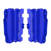 Cache Radiateur Polisport Bleu Yamaha 125/250 YZ 2006-2016 cache radiateur