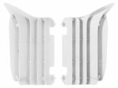 Cache Radiateur Polisport Blanc Yamaha 125/250 YZ 2006-2016 cache radiateur
