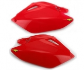 plaques laterales rouge cycra  250 CR-F 2006-2009 plaques laterales cycra