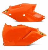 plaques laterales ORANGE FLUO cycra  250/350/450 SX-F 2016 plaques laterales cycra