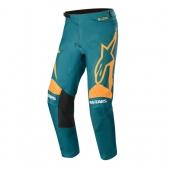 Pantalon Cross ALPINESTARS Racer Supermatic BLACK/DARK GRAY/TEAL maillots pantalons