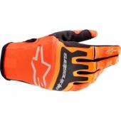 Gants Moto Cross ALPINESTARS Aviator BLACK/DARK GRAY/TEAL gants