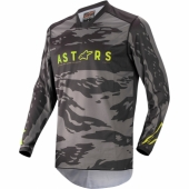 Maillot Cross ALPINESTARS Racer Braap PETROL/AQUA/ORANGE FLUO maillot pantalon kids