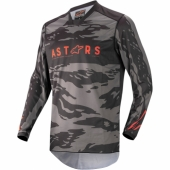 Maillot Cross ALPINESTARS Racer Supermatic  ANTHRACITE/YELLOW FLUO/LIGHT GRAY maillot pantalon kids