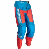 PANTALON MOOSE RAGING QUALIFER BLEU/ORANGE 2017 maillots pantalons