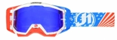LUNETTES JUST1 Iris USA bleu/rouge/blanc lunettes