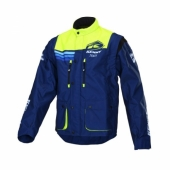 VESTE KENNY TRACK CYAN/NAVY/ORANGE 2017 vestes