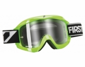 LUNETTE FIRST RACING CHROMATIK VERTE/FLUO ECRAN CLAIR lunettes