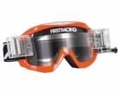 LUNETTE FIRST RACING CHROMATIK ORANGE/FLUO AVEC ROLL OFF lunettes