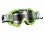 LUNETTE FIRST RACING CHROMATIK VERTE/FLUO AVEC ROLL OFF lunettes