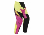 PANTALON FIRST RACING DATA ROSE FLUO KID 2017 maillot pantalon kids