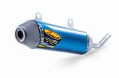 SILENCIEUX FMF TITANE POWERCORE 2.1 anodise bleu 250 TC 2017 echappements