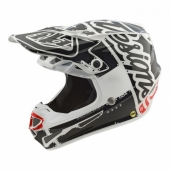 Casque Troy Lee designs SE3 Neptune yellow casques