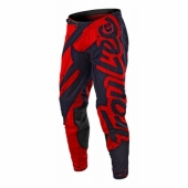 Pantalon Troy Lee Designs SE Air Starburst BLANC/ROUGE maillots pantalons