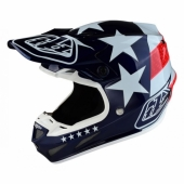 Casque Composite Troy Lee Designs SE4 Freedom Bleu casques