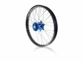 Roue arrière complète ART 19x2.15 jante noire/moyeu bleu Yamaha 450 YZ-F 2009-2017 roues completes