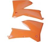 ouies de radiateurs UFO KTM 200 EXC 2005-2007 plastiques ufo