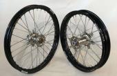 PAIRE DE ROUE COMPLETES KAWASAKI 250 KX 2004-2008 roues completes