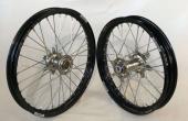 PAIRE DE ROUE COMPLETES SUZUKI 250 RM 2001-2013 roues completes