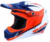 Casque MSR SC1 PHOENIX BLANC/ORANGE/BLEU casques