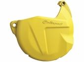 Protection de carter d'embrayage POLISPORT jaune HUSQVARNA 250/350 FE 2014-2016 protection carter embrayage