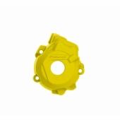 Protection de carter d'allumage POLISPORT jaune  HUSQVARNA 250/350 FC 2014-2015 protection carter allumage