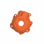 Protection de carter d'allumage POLISPORT ORANGE KTM 250 EXC-F 2014-2016  protection carter allumage
