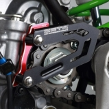 PROTEGE PIGNON SORTIE BOITE ANODISE ROUGE KAWASAKI 450 KX-F 2016-2017 protege pignon sortie boite