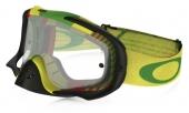 LUNETTE  OAKLEY Crowbar Biohazard Rasta écran transparent lunettes