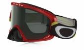 LUNETTE OAKLEY O2 Heritage Racer rouge écran Dark grey lunettes