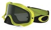 LUNETTE  Crowbar Heritage Racer Team Bright verte écran Dark Grey lunettes