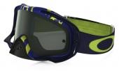 LUNETTE OAKLEY Crowbar Flight Series Sunday Punchers bleu/vert écran Dark Grey lunettes