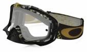 LUNETTE OAKLEY Crowbar Mosh Pit Gold écran transparent lunettes