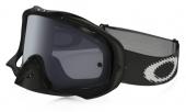 LUNETTE Masque OAKLEY Crowbar Sand Jet noir écran gris + transparent lunettes