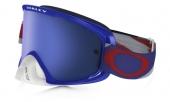 LUNETTE OAKLEY O2 Heritage Racer Blue écran Ice Iridium lunettes