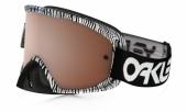 LUNETTE OAKLEY O2 blanc Bengal écran Black Iridium + transparent lunettes