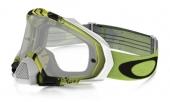 LUNETTE OAKLEY Mayhem Pro Pinned Race vert/noir écran transparent lunettes