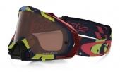 LUNETTE  OAKLEY Mayhem Pro Troy Lee Designs Edition écran Prizm MX Bronze lunettes