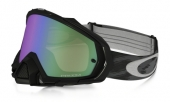 LUNETTE OAKLEY Mayhem Pro Jet noire écran Prizm MX Jade Iridium lunettes