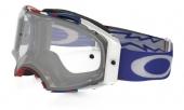 LUNETTE OAKLEY Airbrake High Voltage RWB blanc écran transparent lunettes